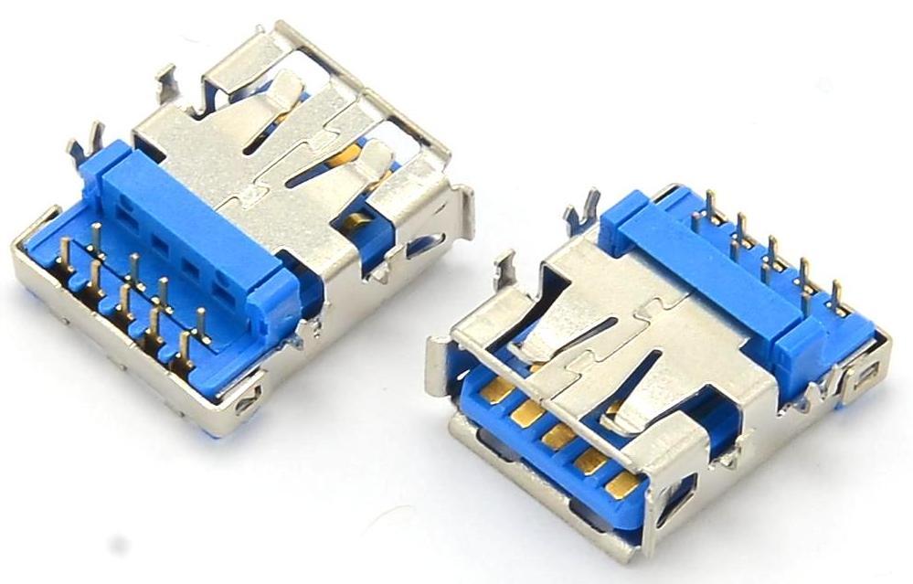 Разъем USB 3.0 для ноутбука тип 34