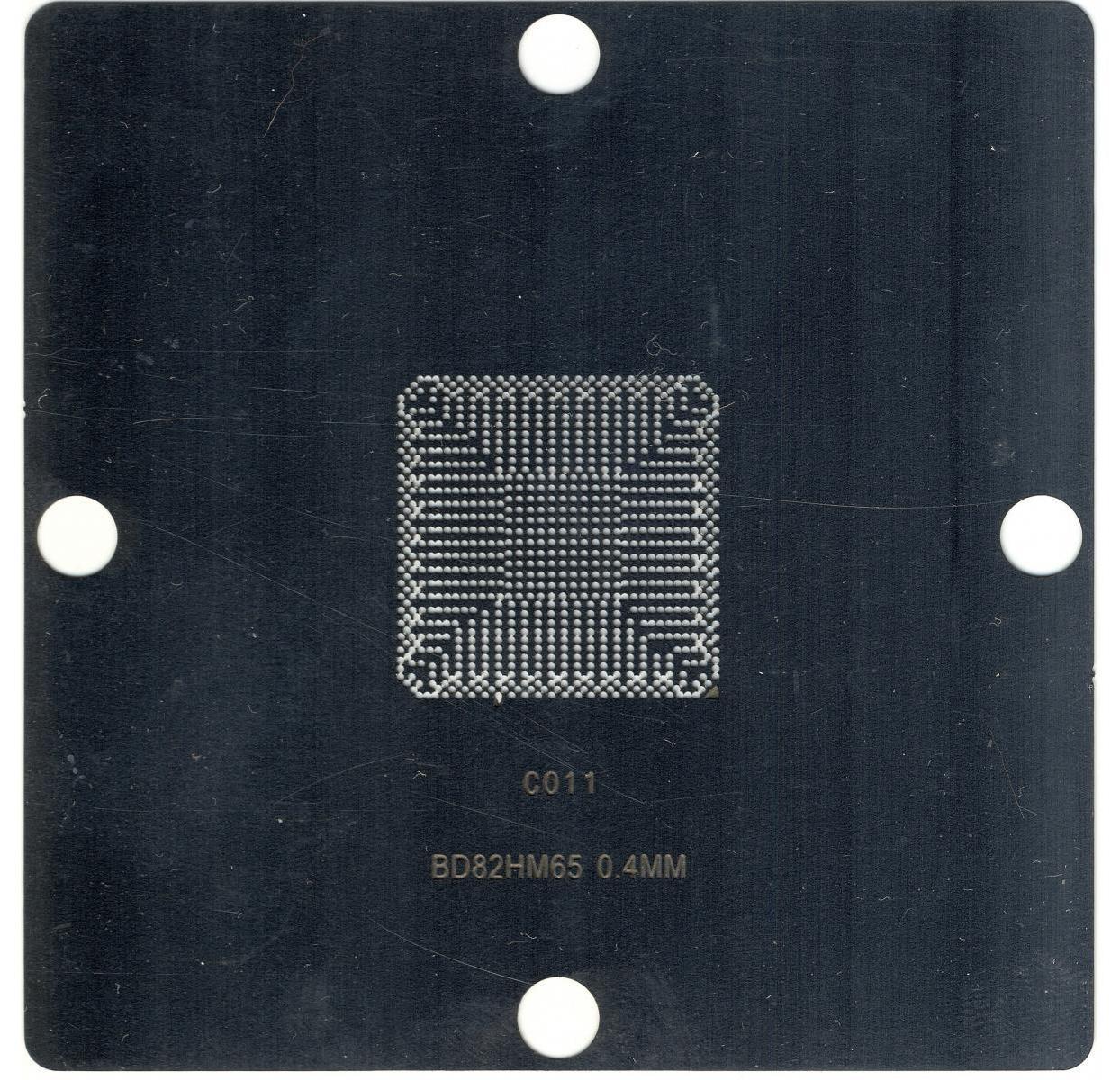 Трафарет BGA BD82HM65 80*80 мм