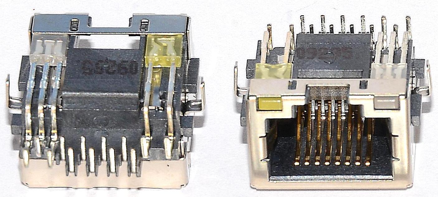 Разъем RJ-45 для ноутбука тип 8