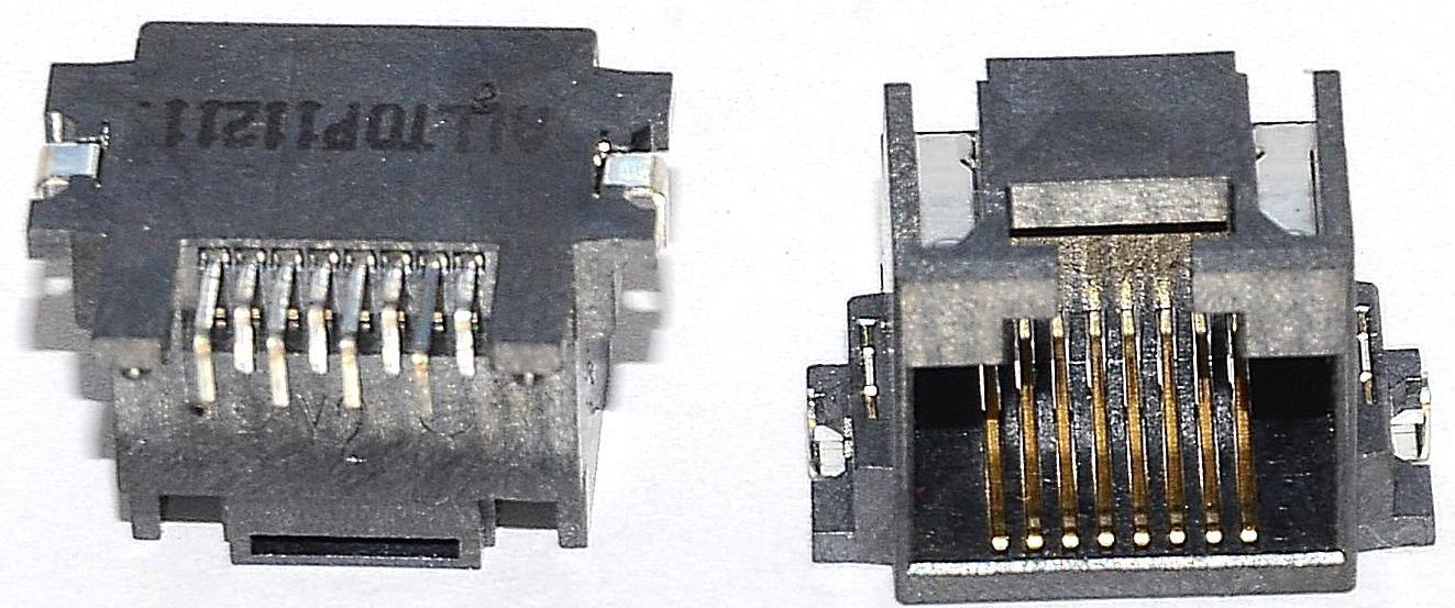 Разъем RJ-45 для ноутбука тип 39
