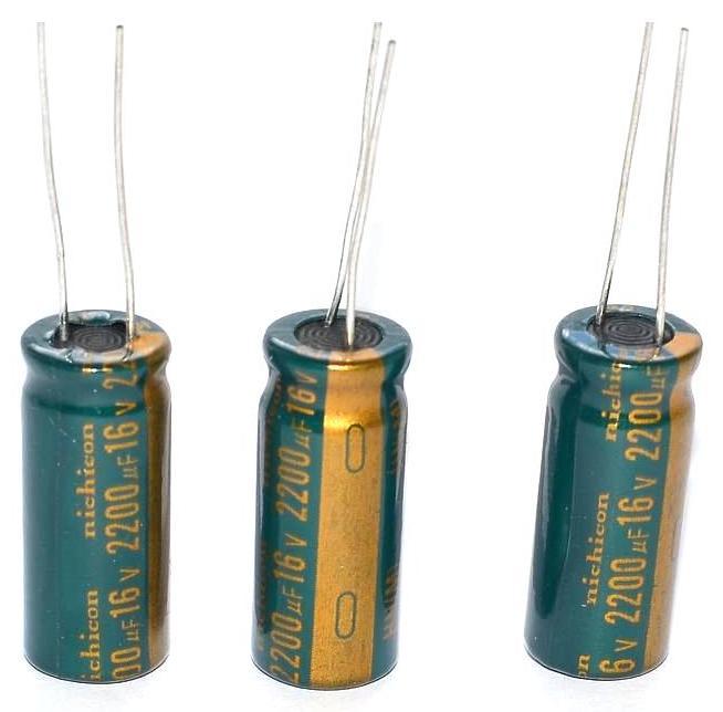 Кое-что о взаимозаменяемости электролитических конденсаторов 60