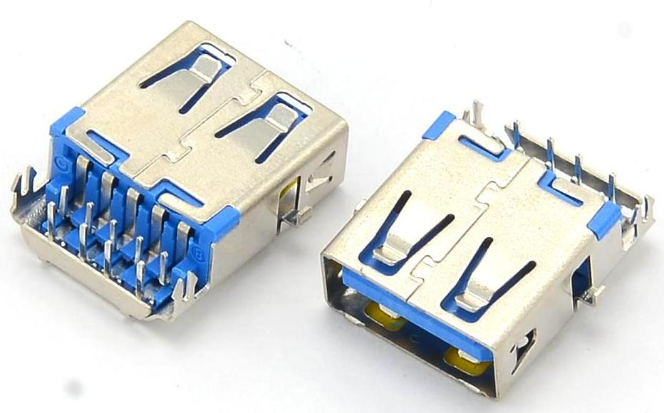 Разъем USB 3.0 для ноутбука тип 16