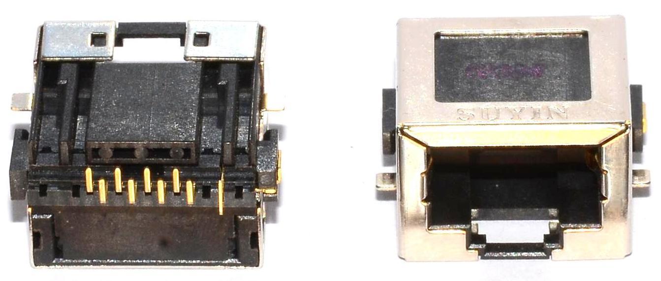 Разъем RJ-45 для ноутбука тип 43