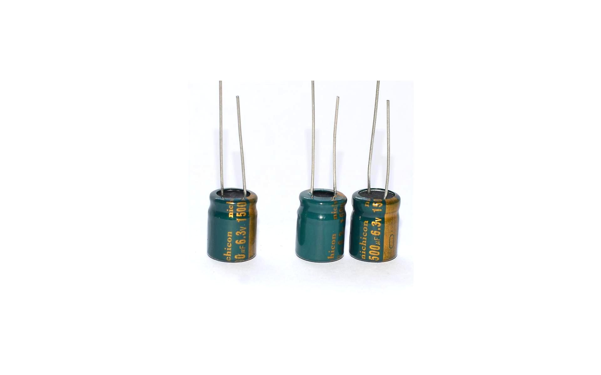 Кое-что о взаимозаменяемости электролитических конденсаторов 10