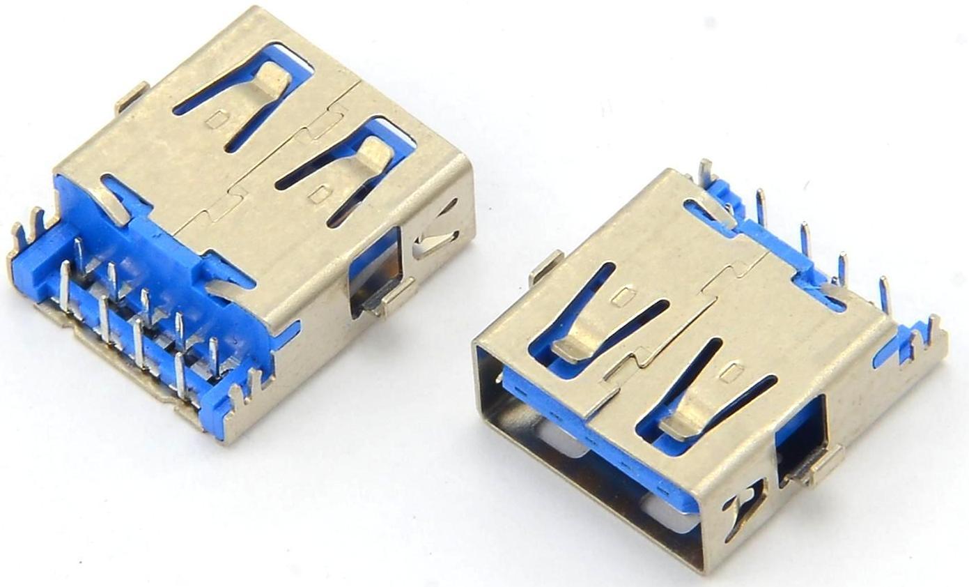 Разъем USB 3.0 для ноутбука тип 28