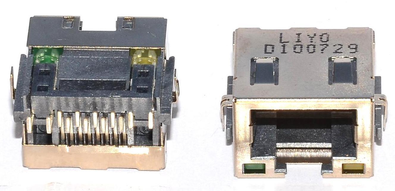 Разъем RJ-45 для ноутбука тип 35