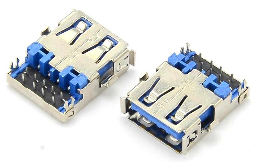 Разъем USB 3.0 для ноутбука тип 14