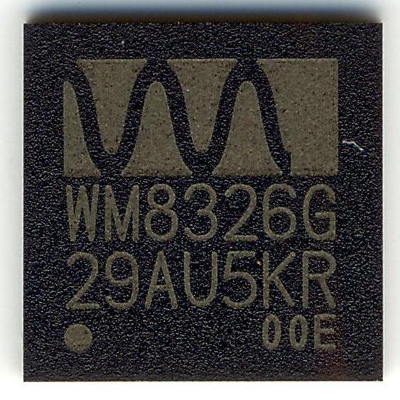 WM8326GEFL