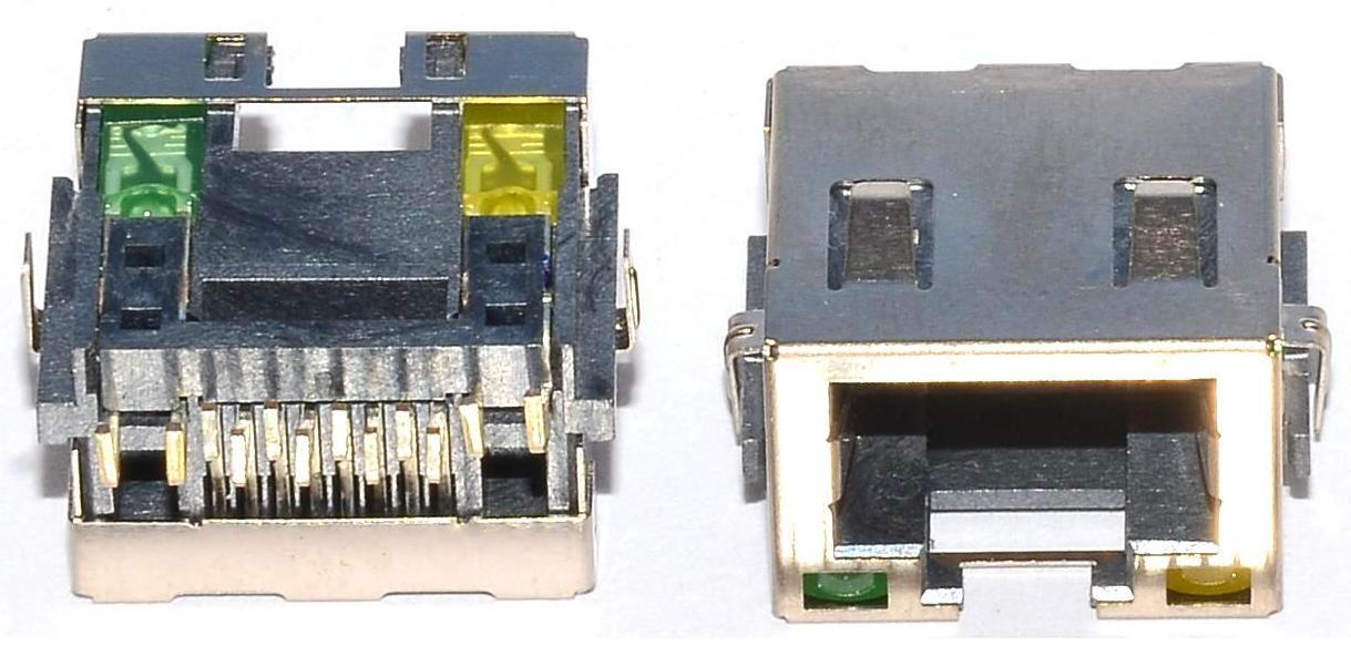 Разъем RJ-45 для ноутбука тип 4