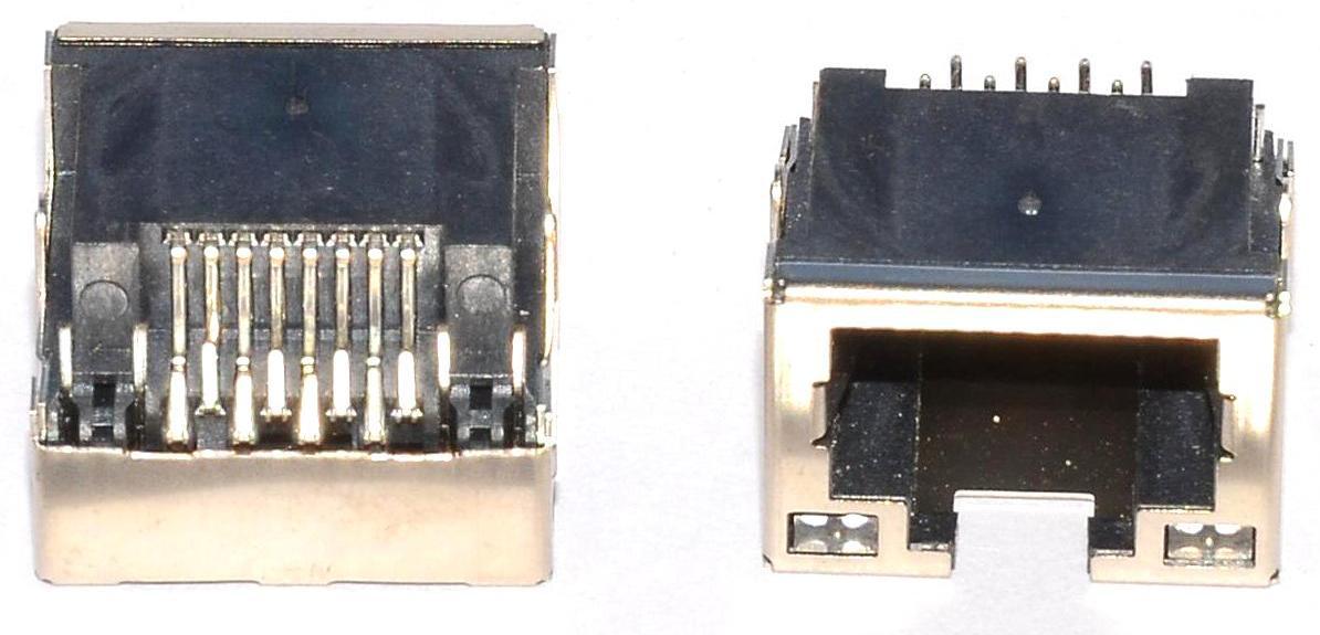 Разъем RJ-45 для ноутбука тип 14