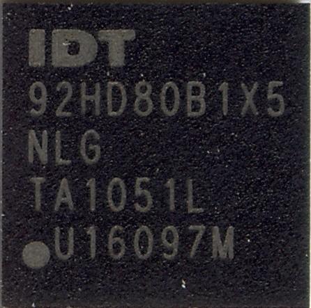 IDT92HD80B1X5