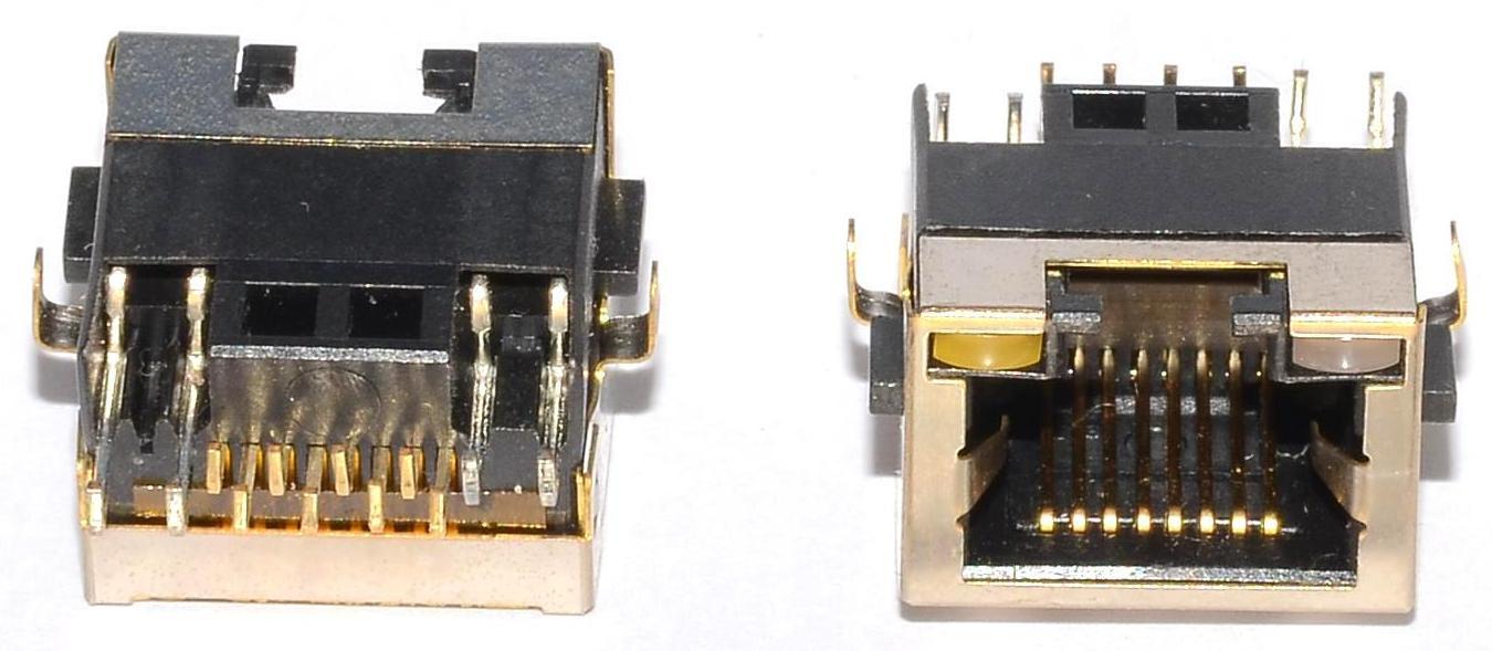 Разъем RJ-45 для ноутбука тип 38