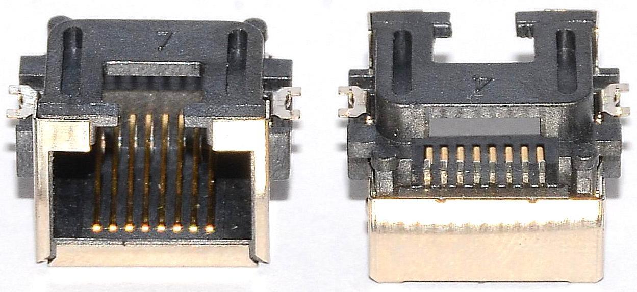 Разъем RJ-45 для ноутбука тип 10
