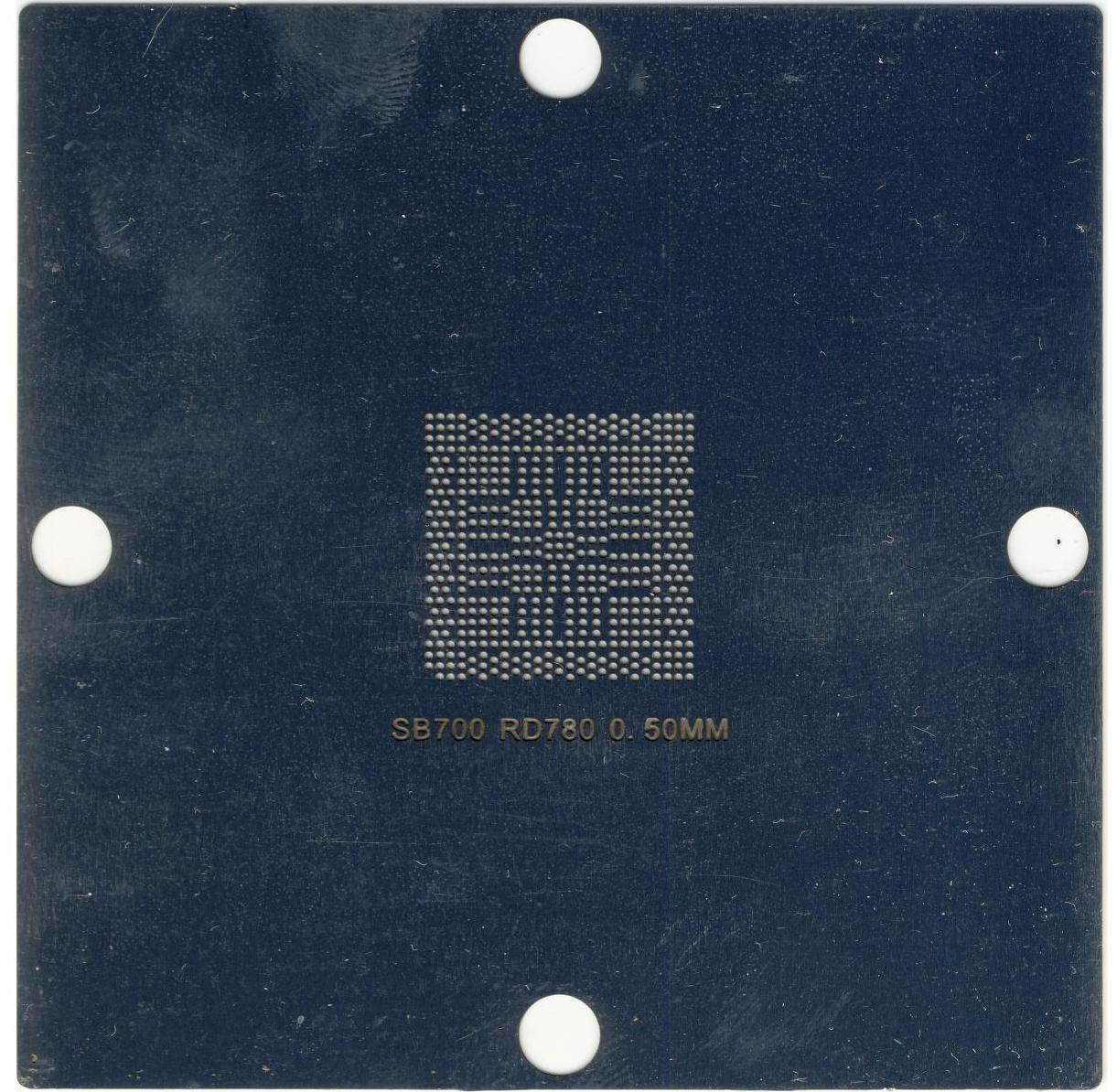 Трафарет BGA 216-0752001 218-0660017 80*80 мм