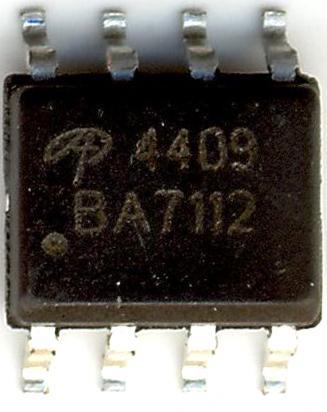 Ao4409 P-CHANNEL Transistor 30 V 15 A