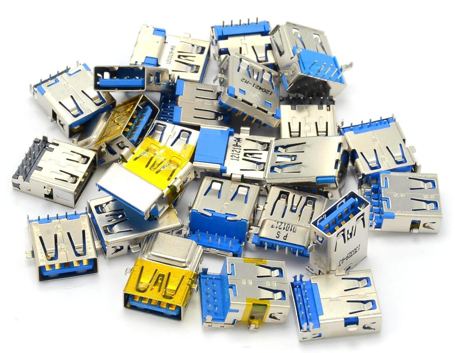 Набор разъемов USB 3.0 (24 штуки)