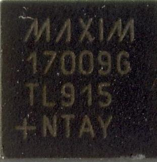 MAX17009GTL
