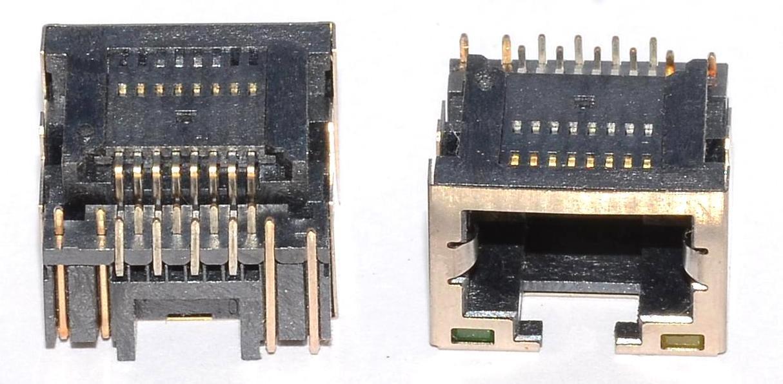 Разъем RJ-45 для ноутбука тип 28