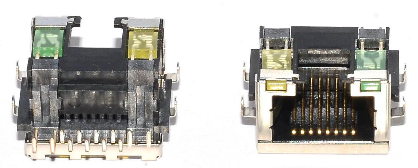 Разъем RJ-45 для ноутбука тип 3