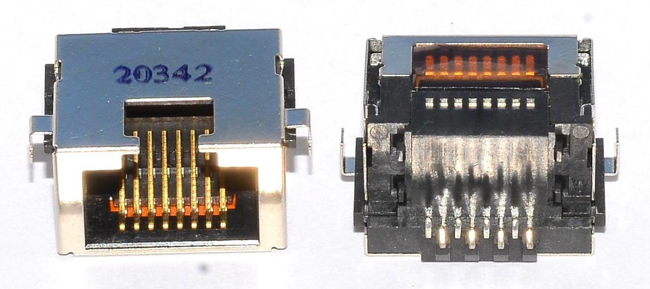 Разъем RJ-45 для ноутбука тип 9