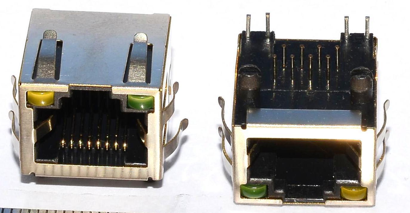 Разъем RJ-45 для ноутбука тип 37