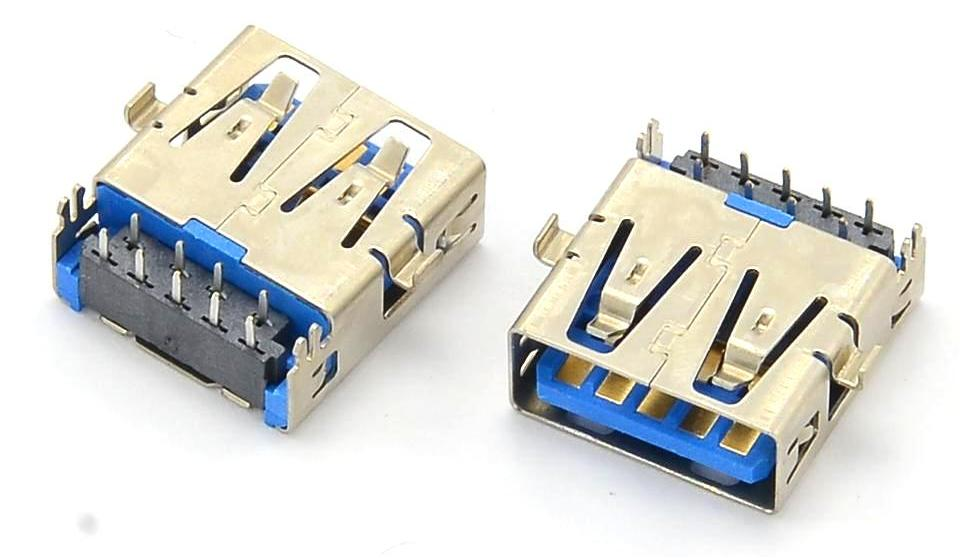 Разъем USB 3.0 для ноутбука тип 23