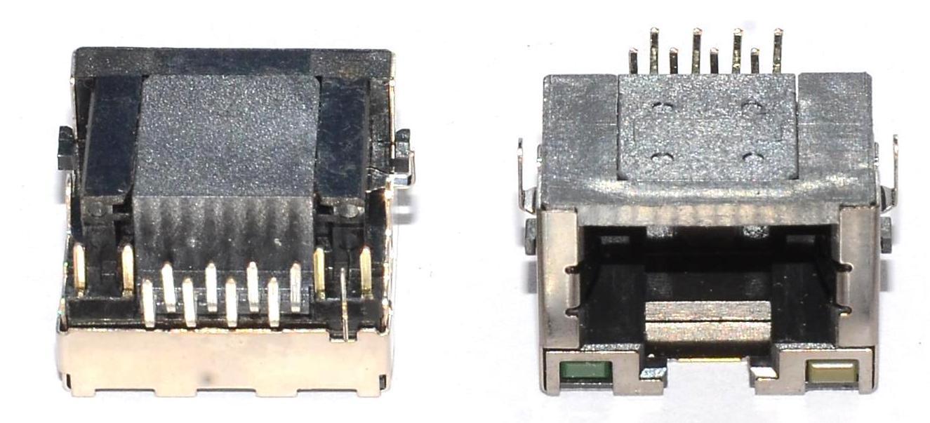 Разъем RJ-45 для ноутбука тип 25