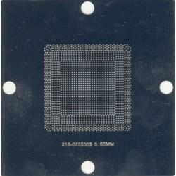 Трафарет BGA ATI 215-0735033 215-0735003  80*80 мм