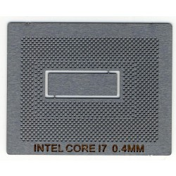 Трафарет для реболла BGA CPU CORE I7 0.4MM