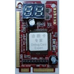 Тестовая карта PCI-E MINIPCI
